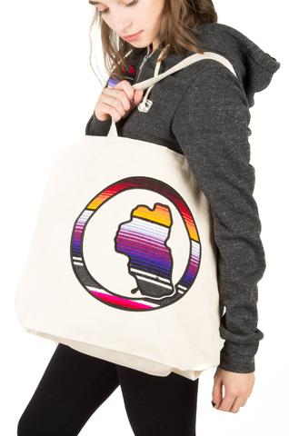 Accessories - TAHOEMADE Organic Cotton Serape Tote