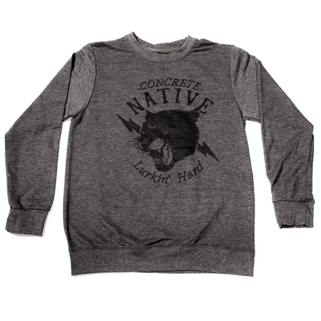 Crew Necks - Concrete Native The Stalker Crewneck Sweatshirt