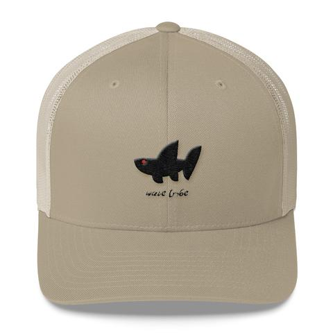 Boards - Wave Tribe Wave Tribe Whale Shark Logo Trucker Cap