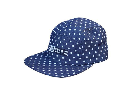Ball Caps & Snapbacks - So-Gnar 5 Panel Polka Dot Camper Hat