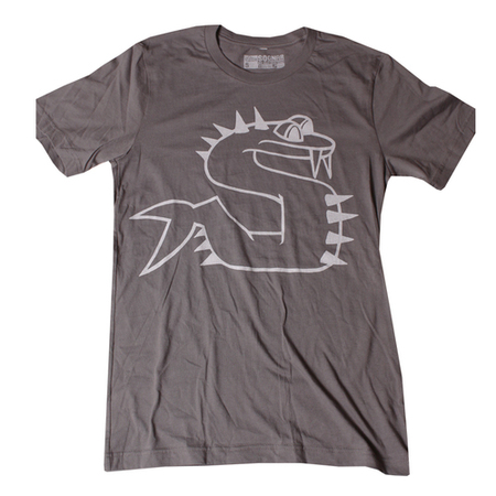 Tees - So-Gnar Sammy The Snake Tee Shirt Grey