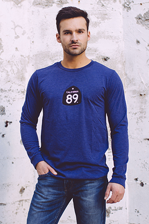 Long Sleeve - California 89 Men's Long Sleeve Gondola Tee