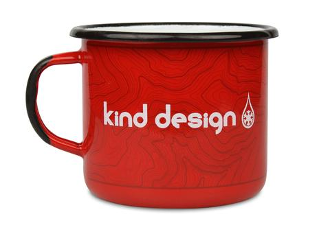 More - Kind Design Enamel Camp Mug