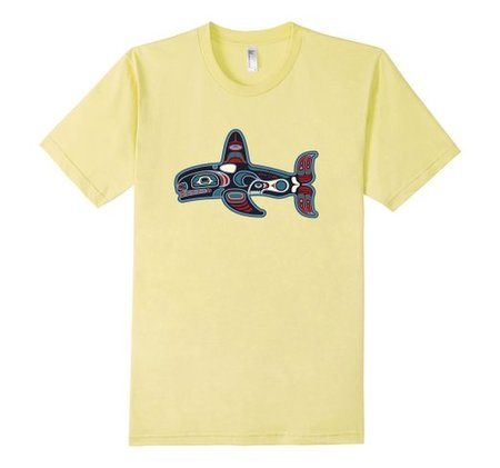Tees - Wave Tribe Tribal Whale Organic T