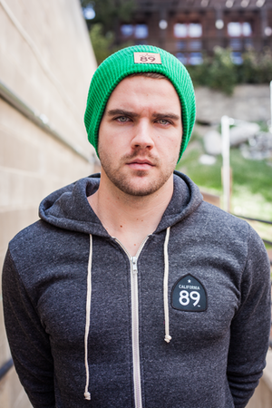 Beanies - California 89 CAPTEUR HATS - SLOUCH KNIT BEANIE - GREEN