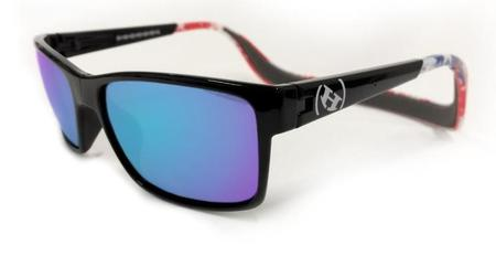 Hoven Vision MONIX Black- American Flag Gloss - Grey Polarized