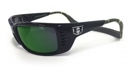 Hoven Vision MEAL TICKET Black-Green Camo / Green Chrome Polarized