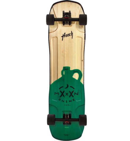 Clothing - Concrete Coast Moonshine MFG Hooch Green