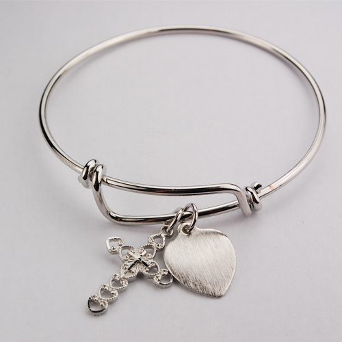 Bangle Bracelet Cross