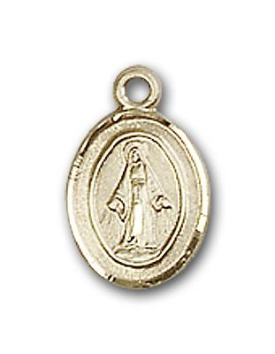 BL0205PLGF Gold Filled Miraculous Medal