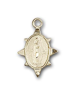 BL0212PLGF Gold Filled Miraculous Medal
