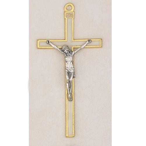 5 1 2 white crucifix