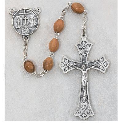 5X7 mm Olive Wood Rosary