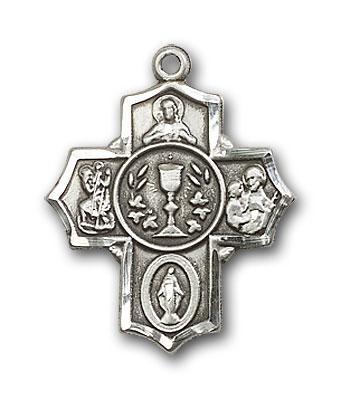 2004SS Silver Millennium Crucifix