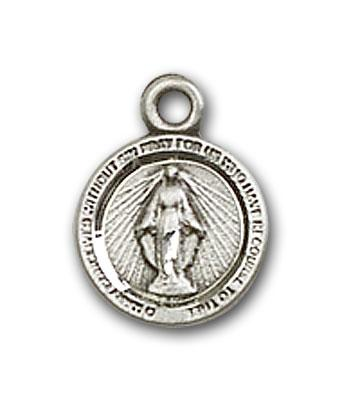 2342SS Silver Miraculous medal