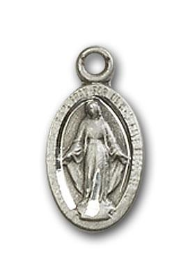 4121MSS Silver Miraculous medal