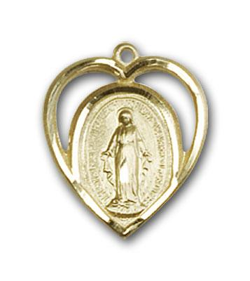 BL4125GF Gold Filled Miraculous Medal