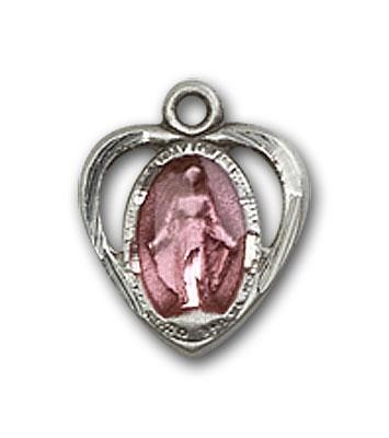 Sterling Silver Miraculous Medal - Pendant