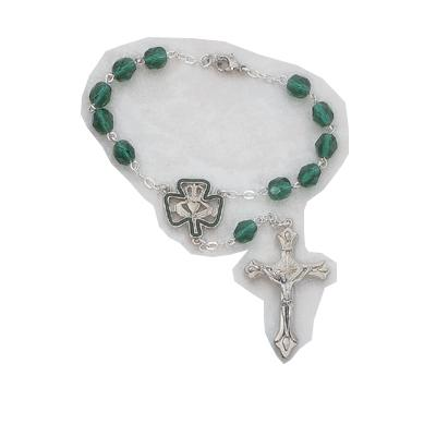 catholic gifts irish auto rosary