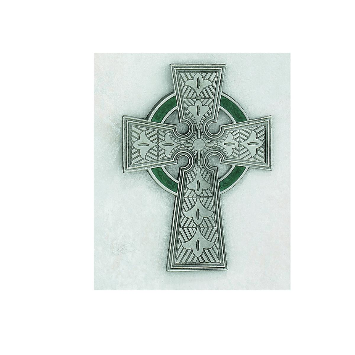 4 Inch Pewter CELTIC Cross