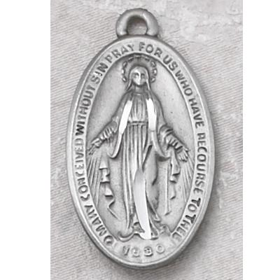 catholic gifts miraculous medal pewter