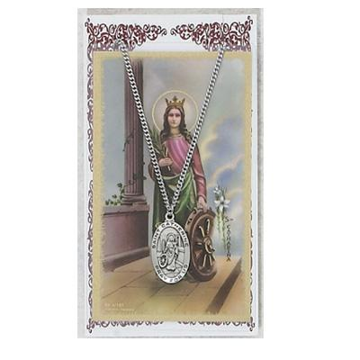 ST CATHERINE PRAY Card Set