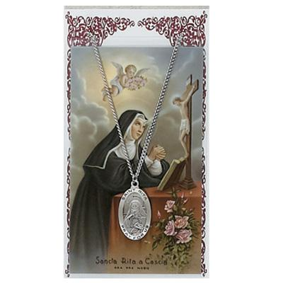 catholic gifts st rita prayer card