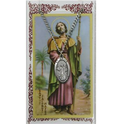 ST JAMES Prayer Card Set