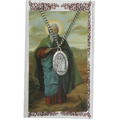 ST MATTHEW Prayer Card Set