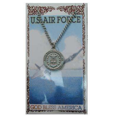 Air Force Prayer Card and Medal