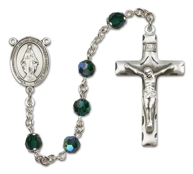miraculous emerald rosary