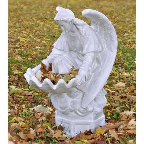 fegana angel outdoor statue 32in