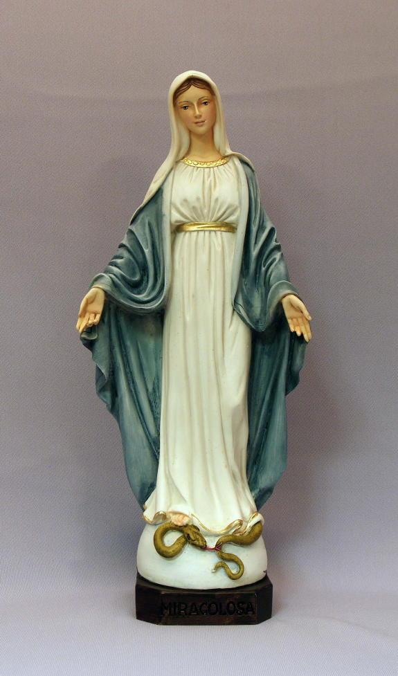 our lady of grace statue 12 inches