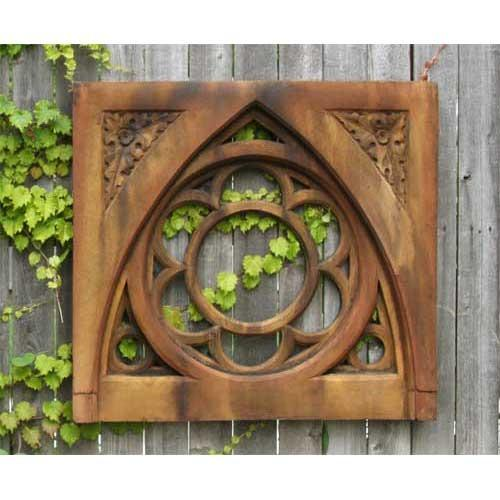 oak leak tracery outdoor panel 26.5in