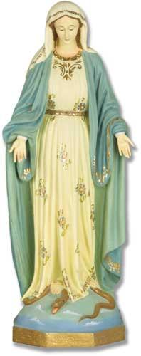 our lady of grace statue 24 inch
