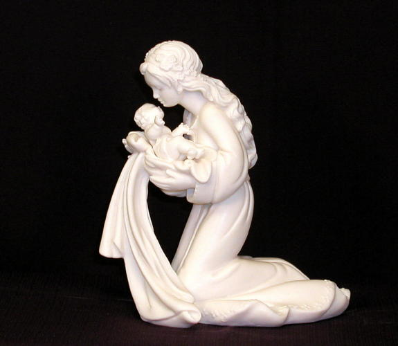 jesus with mary statuary