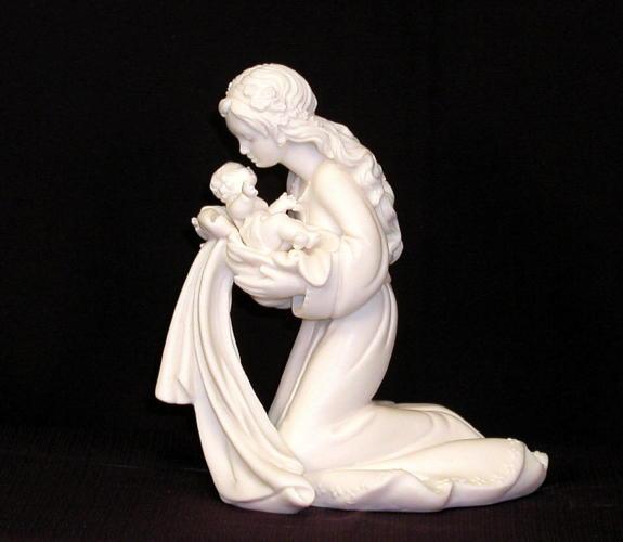 jesus with mary statuary