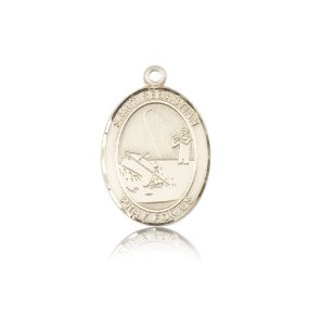 gold filled st  sebastian fishing bl7188gf