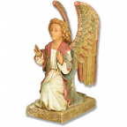5 inch angel gabriel statue kneeling