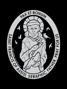saint francis of assisi car decal