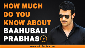 Prabhas – Age, Birthday, Biography, Wife, Net Worth and More