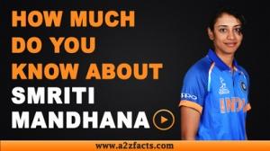 Smriti Mandhana – Age, Birthday, Biography, Boyfriend, Net Worth and More