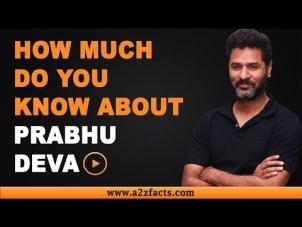 Prabhu Deva – Age, Birthday, Biography, Wife, Net Worth and More