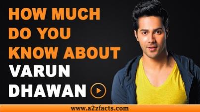Varun Dhawan – Age, Birthday, Biography, Girl Friend, Net Worth and More
