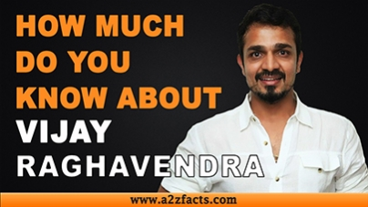 Vijay Raghavendra – Age, Birthday, Biography, Wife, Net Worth and More