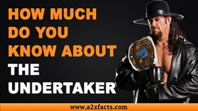 The Undertaker – Age, Birthday, Biography, Wife, Net Worth and More