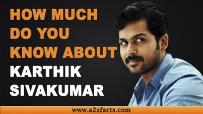 Karthi - Age, Birthday, Biography, Wife, Net Worth and More
