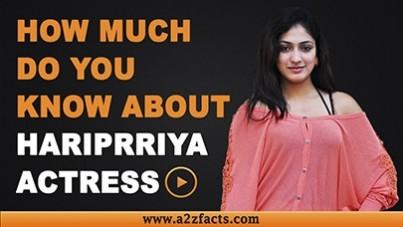 hariprriya-age-birthday-biography-husband-net-worth