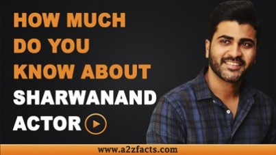 Sharwanand - Age, Birthday, Biography, Wife, Net Worth and More
