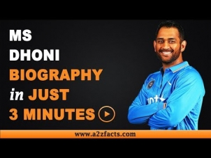 MS Dhoni – Age, Birthday, Biography, Wife, Net Worth and More